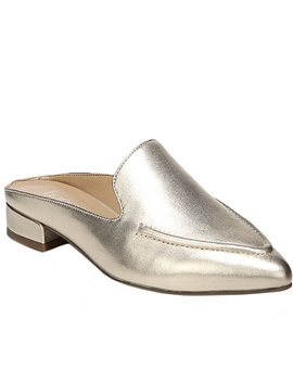Franco Sarto Leather Mules   Sela by Qvc