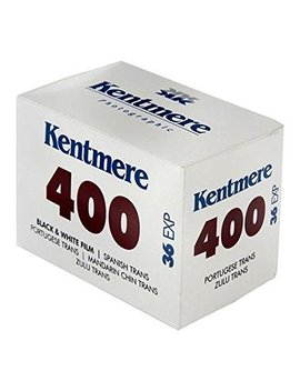 Kentmere 400 Black And White Negative Film, 35mm, 100' Roll, 6012599 by Kentmere