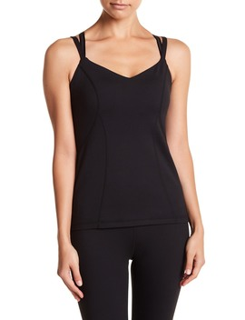 Bringing Strappy Back Tank Top by Zella