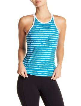 Crew Neck Racer Back Tank Top by New Balance