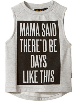 Mama Said Muscle T Shirt (Toddler/Little Kids/Big Kids) by 6pm