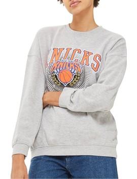 X Unk Knicks Sweatshirt by Topshop