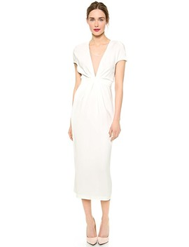 Short Sleeve Dress by Vionnet