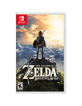 The Legend Of Zelda: Breath Of The Wild (Nintendo Switch) by Nintendo