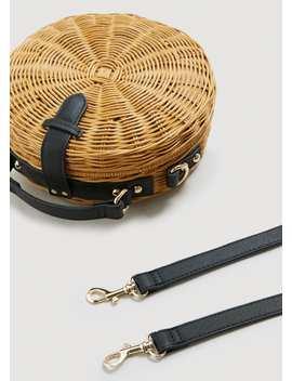 Bamboo Coffer Bag by Mango