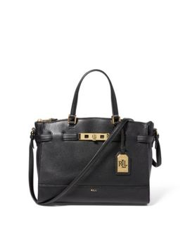Leather Darwin Satchel by Ralph Lauren