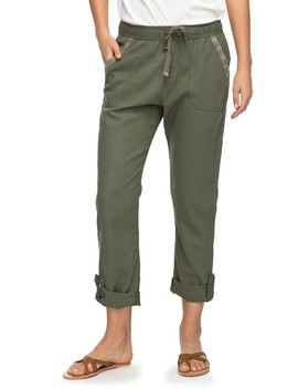 Symphony Lover Linen Blend Pants by Roxy