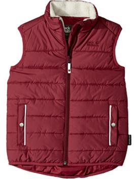 Black Bear Insulated Vest (Infant/Toddler/Little Kids/Big Kids) by Jack Wolfskin Kids