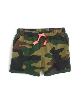 Crewcuts Ester Camo Cotton Shorts by Crewcuts By J. Crew