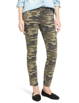 Juliette Camo Print Military Cargo Pants by Mavi Jeans