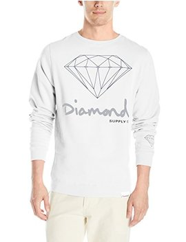 Diamond Supply Co Men's Og Script Brilliant Crewneck by Diamond Supply Co