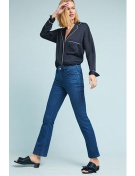 Pilcro High Rise Cropped Bootcut Jeans by Pilcro And The Letterpress