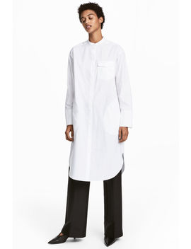 Pima Cotton Shirt Dress by H&M