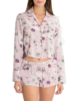 Crop Pajama Top by Midnight Bakery