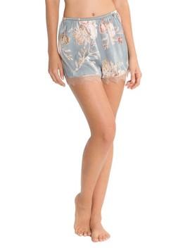 Satin Pajama Shorts by Midnight Bakery