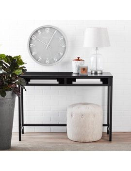 Mainstays Sumpter Park Desk, Black Oak by Mainstays