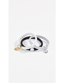 Double J Cutout Ponytail Holder by Marc Jacobs