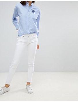 Polo Ralph Lauren Mid Rise Skinny Jean by Polo Ralph Lauren