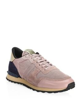 Mesh Runner Sneakers by Valentino Garavani