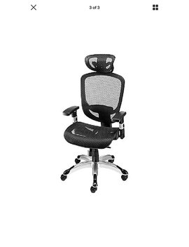 Staples Hyken Technical Mesh Task Chair, Black by Staples