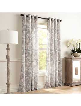 Freddy Gray Grommet Curtain by Pier1 Imports