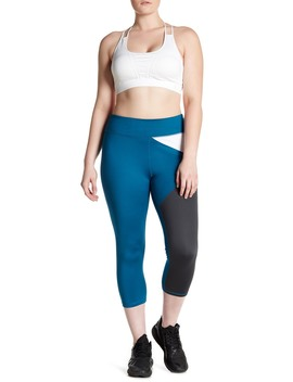 Crescent Cropped Legging (Plus Size) by Z By Zella
