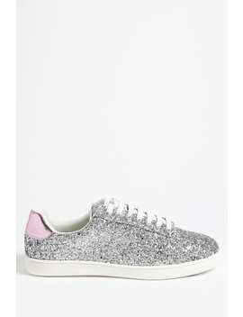 Glitter Low Top Sneakers by Forever 21