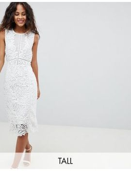 Vero Moda Tall Lace Midi Dress by Vero Moda Tall