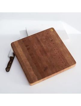 Holler Design Wood Cutting Board by West Elm