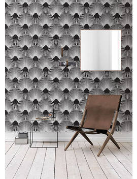 Removable Wallpaper/Wallpaper/Peel And Stick/Self Adhesive Wallpaper/Modern Wallpaper /Creative Patern S121 by Etsy