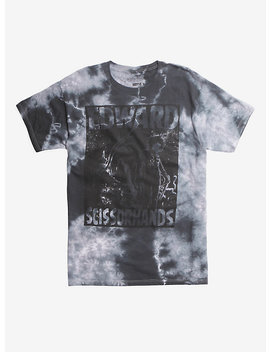 edward-scissorhands-tie-dye-t-shirt by hot-topic