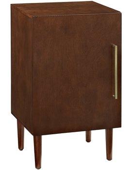 Crosley Furniture Everett Record Player Stand   Mahogany by Crosley Furniture