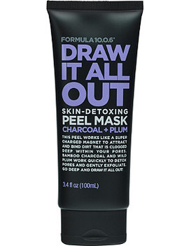 Draw It All Out Skin Detoxing Charcoal + Plum Peel Mask by Formula 10.0.6