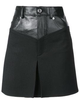 A Line Short Skirt by Helmut Lang