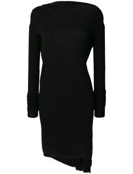 Open Back Short Cocktail Dress by Rick Owens Lilies