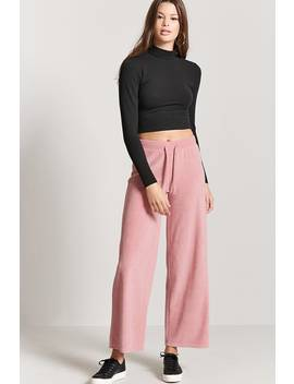 Terry Cloth Sweatpants by F21 Contemporary