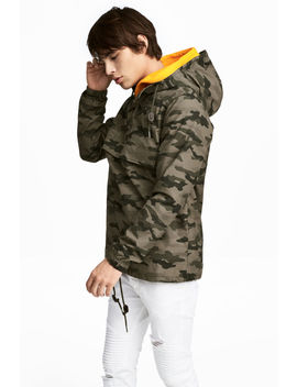 Hooded Anorak by H&M