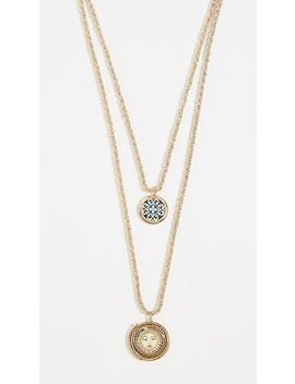 Ciucciue Detachable Double Pendant Necklace by Rosantica