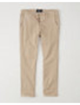 Athletic Slim Officer Chinos by Abercrombie & Fitch