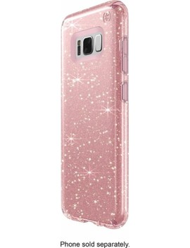 Presidio Case For Samsung Galaxy S8   Clear/Gold/Rose Pink by Speck