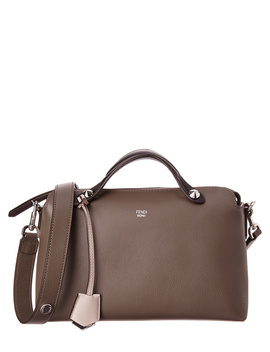 Fendi By The Way Small Multicolor Leather Boston Bag by Fendi