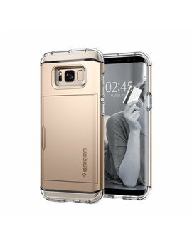 Crystal Wallet Case For Samsung Galaxy S8   Gold Maple by Spigen