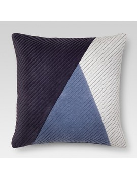 Color Block Throw Pillow   Threshold™ by Shop Collections