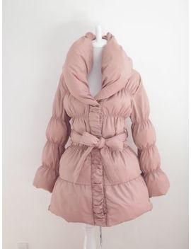Nwt Chu Xxx Padding Coat Lolita Hime Gyaru Very Cute (K518) by Chu Xxx