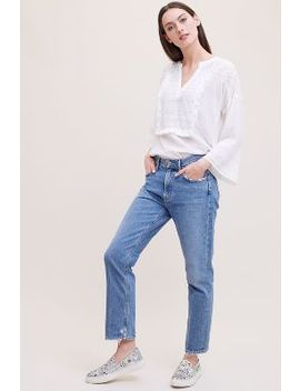 Agolde Low Rise Straight Leg Cigarette Jeans by Anthropologie