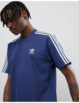 Adidas Originals Nova Retro Soccer T Shirt In Navy Ce4803 by Adidas Originals