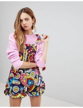 Love Moschino Surprises Printed Playsuit by Love Moschino