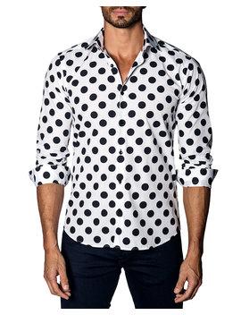 Polka Dot Sport Shirt by Jared Lang