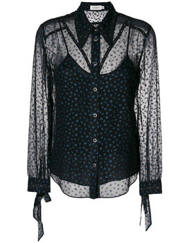 Star Print Blouse by Coach