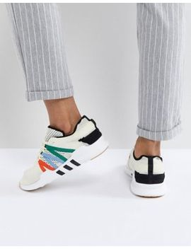 Adidas Originals Eqt Racing Adv Sneakers In Off White by Adidas